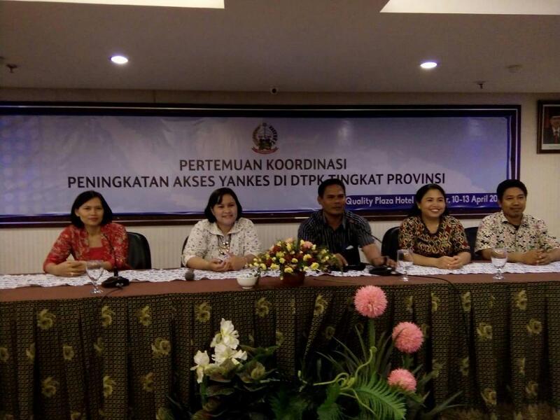 Dinkes Kepulauan Selayar Hadiri Pertemuan Koordinasi Peningkatan Akses Yankes di DTPK Tingkat Provinsi.
