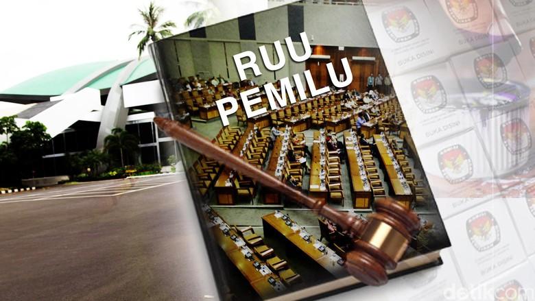 Alot.. DPR urung Syahkan RUU pemilu hari ini