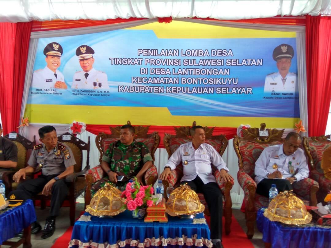 Tim Penilai Lomba Desa kunjungi Selayar