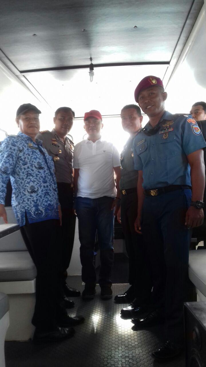 Pemkab, Polres, Kodim, dan TNI Angkatan Laut Pasang Tanda Batas Zonasi Wisata Di Perairan Pasi Gusung