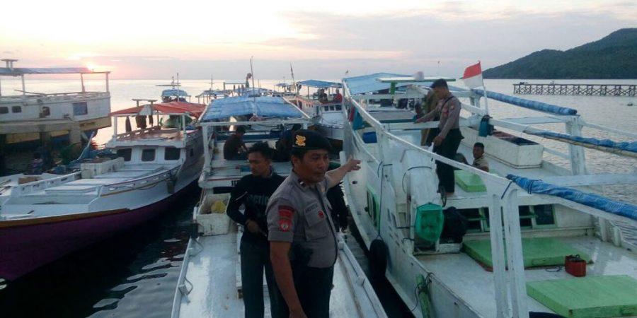 Polres Kepulauan Selayar Kembali Tangkap Kapal Pelaku Illegal Fishing
