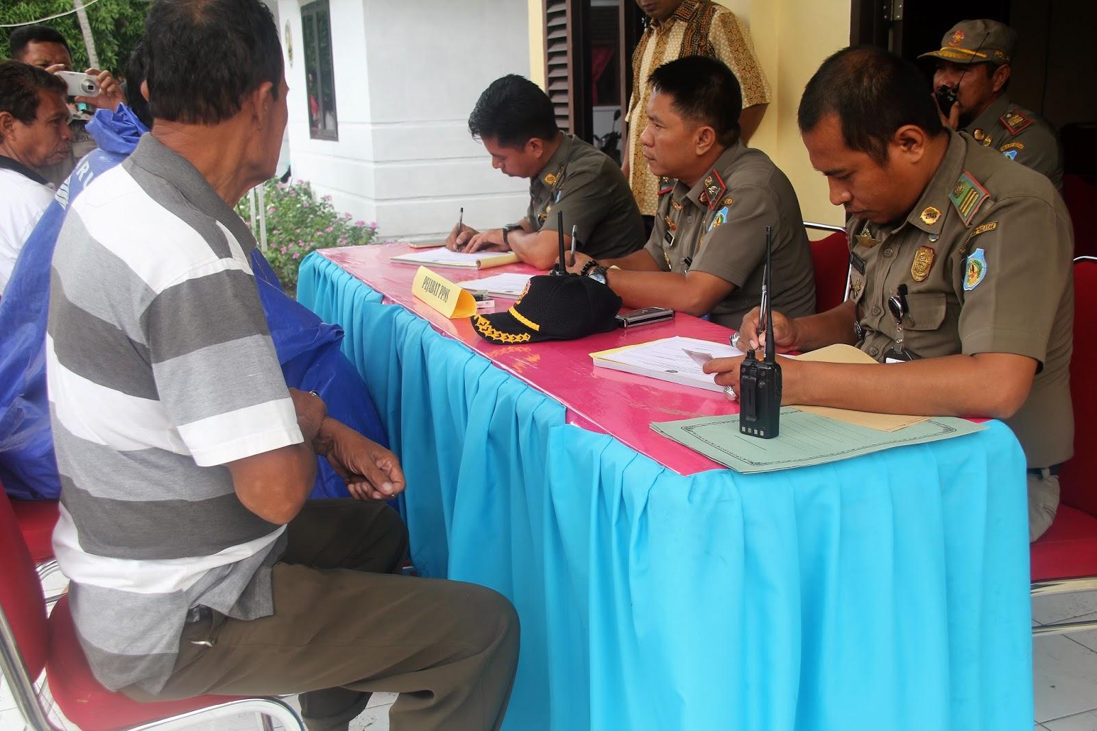 Satpol PP Kepulauan Selayar Kembali Gelar Operasi Yustisi