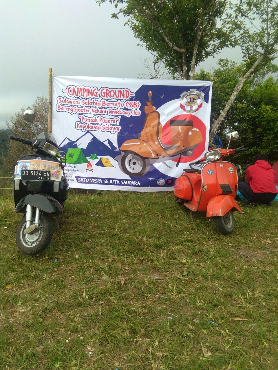 "Perkenalkan Keindahan Selayar ""SONETA"" Gelar Camping Ground di Puncak Pusera"