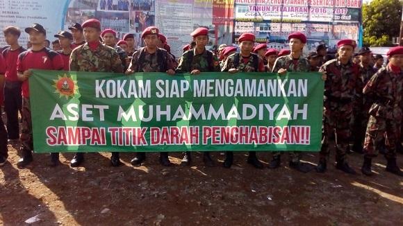 Pengangkatan Plt.Kepala Sekolah Dianggap Menyalahi Aturan, KOKAM Muhammadiyah Segel SMP Muhammadiyah Selayar