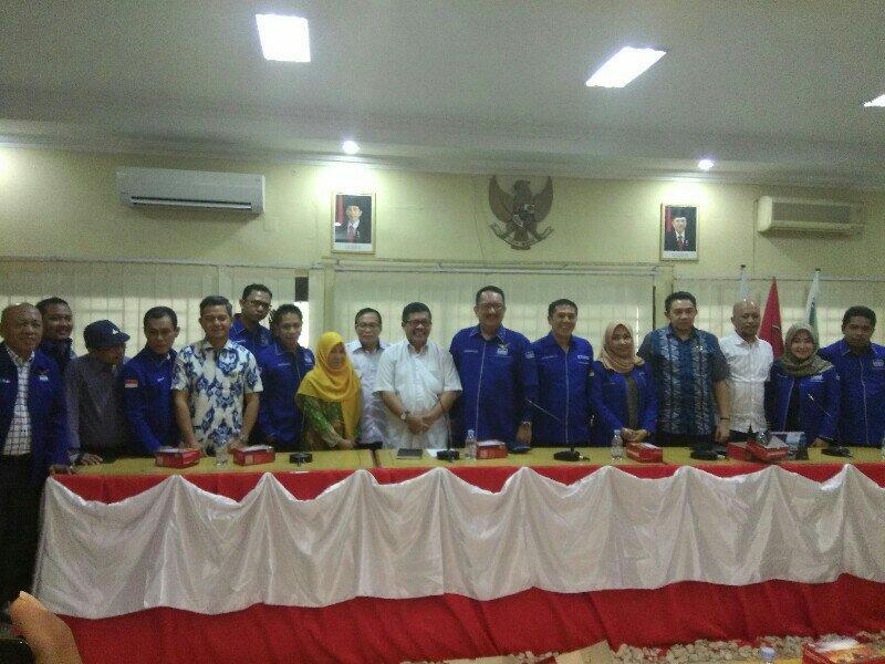 Partai Demokrat Sulsel Silaturahmi Dengan KPU Sulsel