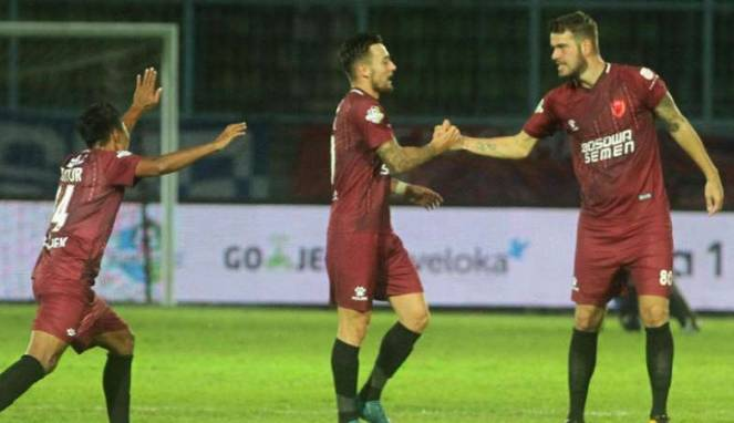 Hujan Gol Warnai Kemenangan PSM Makassar Atas Sriwijaya FC
