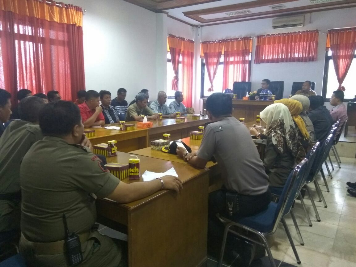 Siaran Pers : Hasil Rapat Komisi I DPRD Kepulauan Selayar Dengan BPN Terkait PTSL Di Desa Lowa