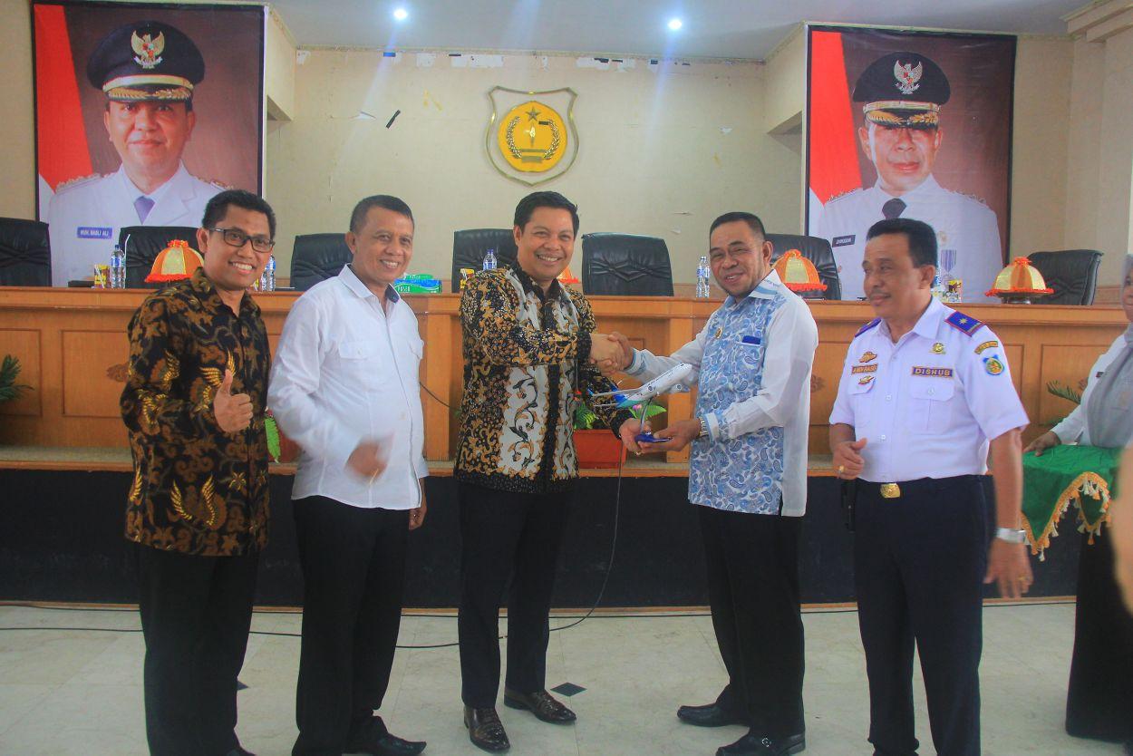 PT. Garuda Indonesia Menawarkan Produk Corporate Partnership Program di Kepulauan Selayar
