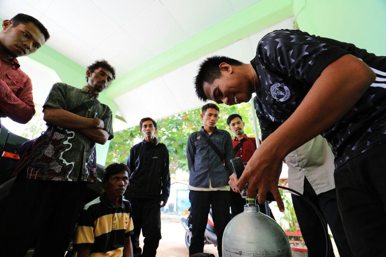 Balai Taman Nasional Takabonerate Kembali Gelar Pelatihan Menyelam Tingkat Lanjutan