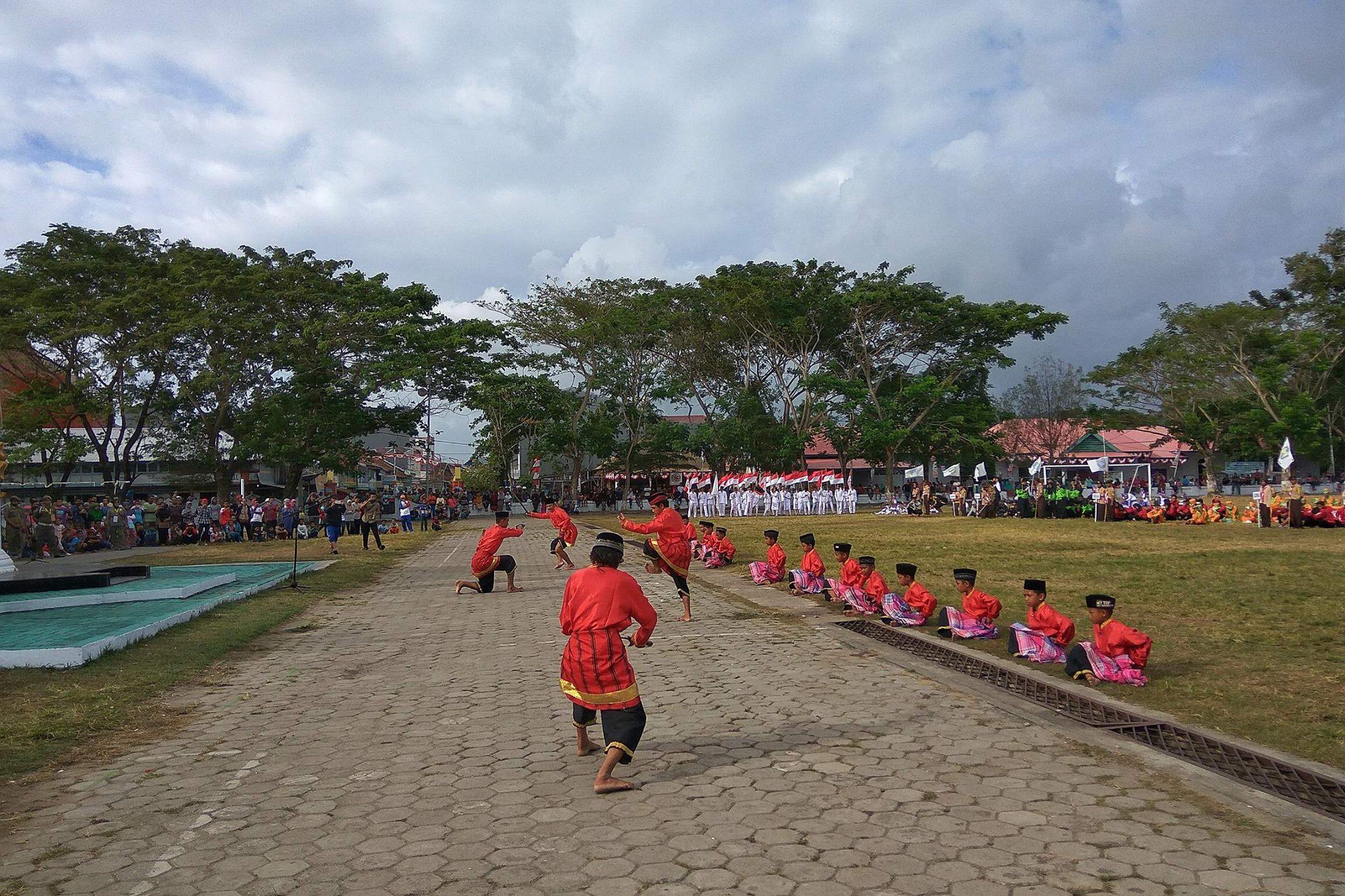 Kuntaw & Manca Pa'dang Pukau Perserta Pembukaan Pra Porda SulSel ke XVI