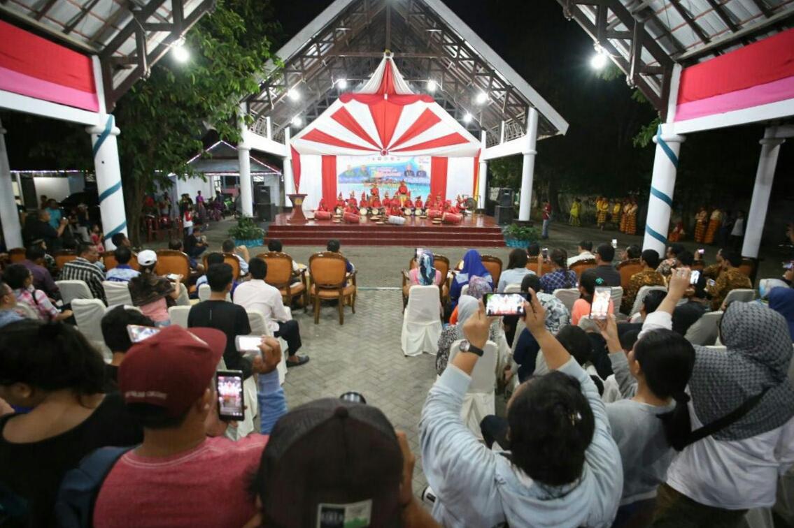 Peserta Festival Pesona Takabonerate IX Disambut Meriah di Selayar