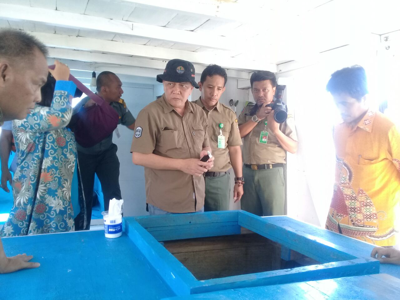 Dirjen Konservasi SDA Kementerian Lingkungan Hidup Kunjungi Pausramabosa